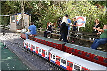TQ1979 : Miniature railway by Andrew Abbott