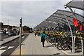 SU5290 : Cycle racks by Andrew Abbott
