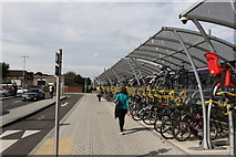 SU5290 : Cycle racks by Andrew Abbott