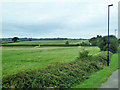 SZ5191 : Fields north of North Fairlee Road by Robin Webster