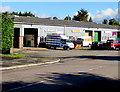 ST2994 : Torfaen Glazing premises and van, Cwmbran by Jaggery