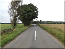 TL9165 : Ixworth Road, Thurston by Adrian Cable