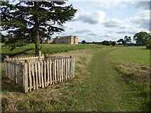 SO8844 : Path beside Croome River by Philip Halling