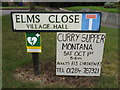 TL8967 : Elms Close sign by Adrian Cable