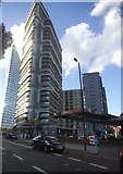 TQ3282 : The new Canaletto building on City Road by David Howard