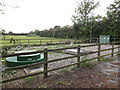 TM1387 : Pumping Station off the B1134 Long Road by Adrian Cable