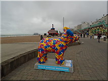 TQ3103 : Snowdog #27, Brighton seafront by Paul Gillett