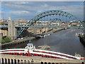 NZ2563 : Tyne bridges by Mike Quinn