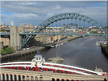 NZ2563 : Tyne bridges by Mike Quinn