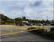 SJ8748 : Festival Heights: car park by Jonathan Hutchins