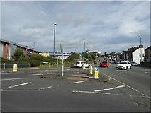SJ8748 : Cobridge: junction of Pavillion [sic] Drive and Cobridge Road by Jonathan Hutchins