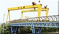 J3575 : Samson and Goliath, Belfast (September 2016) by Albert Bridge