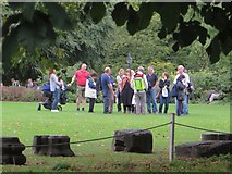 SE5952 : Guided tour, York Museum Gardens by Paul Harrop