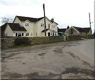 SO8700 : Tobacconist Road houses, Minchinhampton by Jaggery