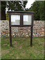 TM1192 : Carleton Rode Village Notice Board by Adrian Cable