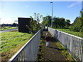 H4771 : Pathway, T & F Hospital, Omagh by Kenneth  Allen
