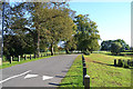 SP3780 : Gates to Caludon Castle Park, Farren Road, Wyken, Coventry by Robin Stott
