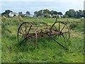 ST4286 : Hay rake, Magor Marsh by Robin Drayton