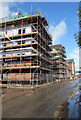 ST3188 : Taylor Wimpey construction site, Rodney Road, Newport by Jaggery