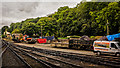 SE8085 : Sidings at Newbridge on NYMR by Peter Moore