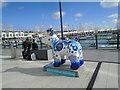 TQ3302 : Snowdog #37, Brighton Marina by Paul Gillett