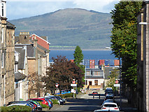 NS2776 : Kelly Street and the Firth of Clyde by Thomas Nugent