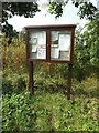 TM1588 : Tivetshall St.Margaret Village Notice Board by Adrian Cable