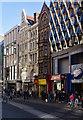 TQ2981 : Clash of styles, Oxford Street by Julian Osley