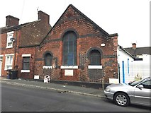 SJ8748 : Hanley: remains of Methodist New Connexion church on Lowther Street by Jonathan Hutchins