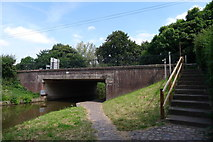 SK0120 : Wolseley Bridge over the Trent and Mersey Canal by Tim Heaton