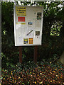 TM1687 : St.Mary s Church Notice Board by Adrian Cable