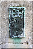 SK8354 : Benchmark on All Saints Church by Roger Templeman