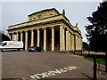 SO9523 : Grade I listed Pittville Pump Room, Cheltenham by Jaggery