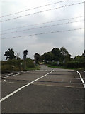 TM1585 : Grove Road & Grove Road Level Crossing by Adrian Cable