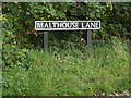 TM1485 : Malthouse Lane sign by Adrian Cable