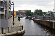 SJ8598 : New Islington Marina by Glyn Baker
