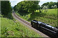 TQ3736 : Train on the Bluebell Line by N Chadwick