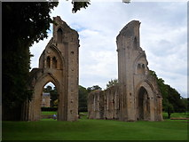 ST5038 : Abbey remains, Glastonbury by Meirion