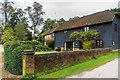 TQ1549 : Milton Court Barn by Ian Capper