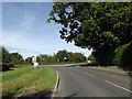 TM0594 : B1077 Attleborough Road, Attleborough by Geographer