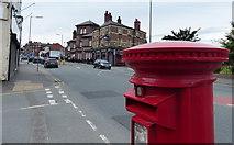 SJ3595 : Postbox along Rice Lane in Walton, Liverpool by Mat Fascione