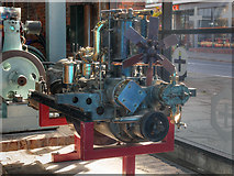 SJ8397 : (Rolls) Royce Engine at Museum of Science and Industry by David Dixon