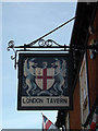 TM0495 : London Tavern Public House sign by Adrian Cable