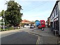 TM0495 : B1077 Church Street, Attleborough by Adrian Cable