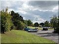 SK4560 : Car parking at Tibshelf Services by Trevor Littlewood
