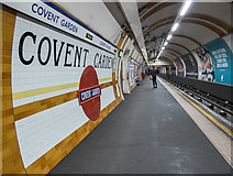 TQ3081 :  Covent Garden Station, London WC1 by Christine Matthews