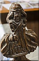 TF0043 : Medieval carved pew end, St Mary's church, Wilsford by Julian P Guffogg