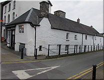 SH7400 : Poplar Road side of the Royal House, Machynlleth by Jaggery
