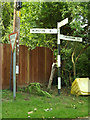 TM1485 : Roadsigns on Upper Street by Adrian Cable
