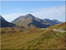 NM9891 : Mountains overlooking Glen Pean by Oliver Dixon